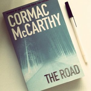The Pulitzer Prize-Winning novel 'The Road' by Cormac McCarthy.