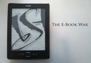The battle between print and e-books continues...