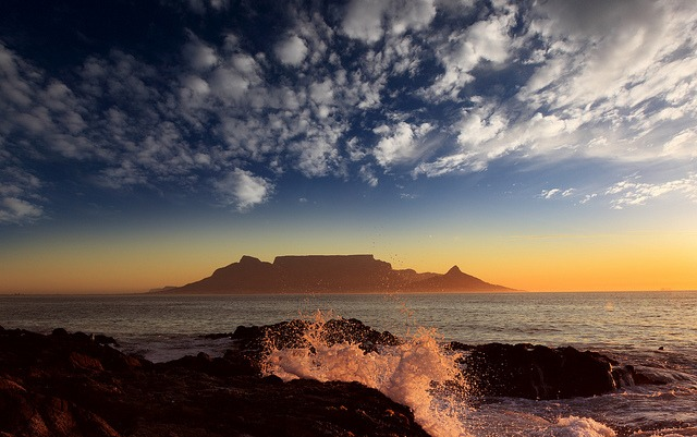 Sunset, Cape Town, South Africa. Image Credit: Dietmar Temps, 2010