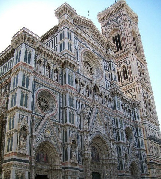 Sometimes, the perfect writing prompts are more than just words...The Basilica di Santa Maria, Florence.