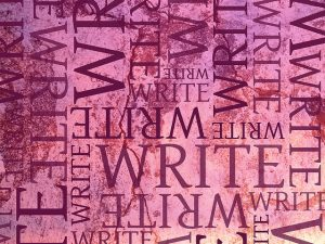 Sometimes, every writer's mind looks a little like this… Image Credit: Karin Dalziel, 2008