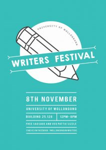 UOW's first ever writers festival.