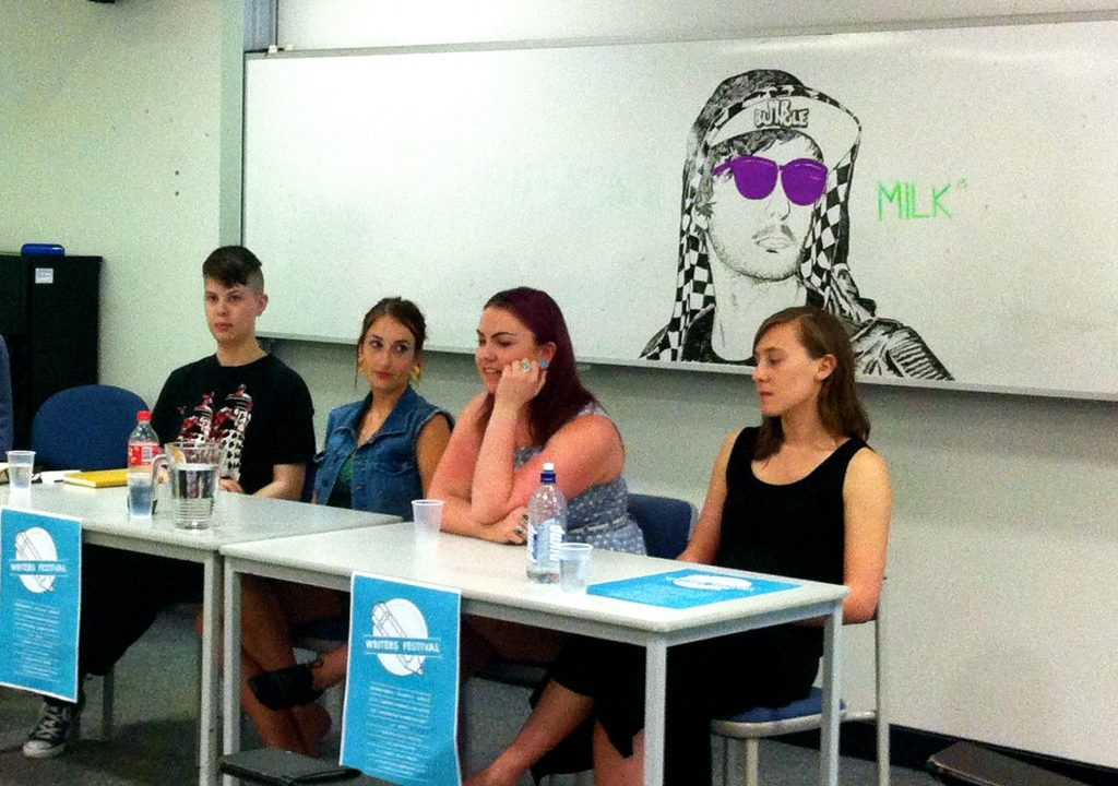 The first panel: Starting and Running a Publication, with the editors and creators of Tide, Tertangala, Bullsh!t and Lovage.