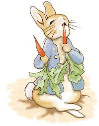Straight from the imagination of Miss Beatrix Potter...