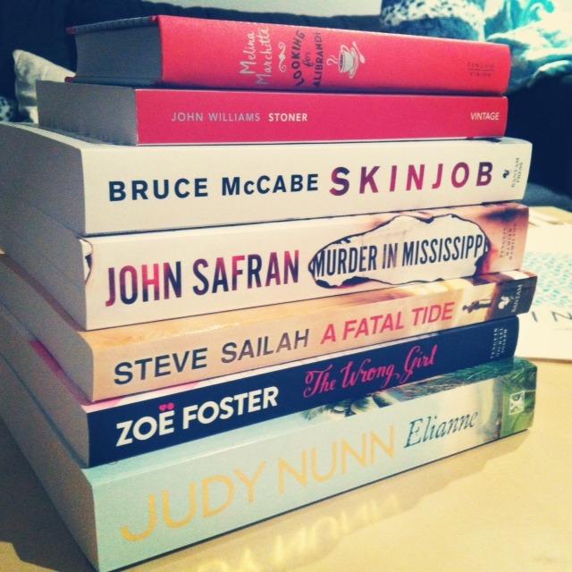 books and bag
