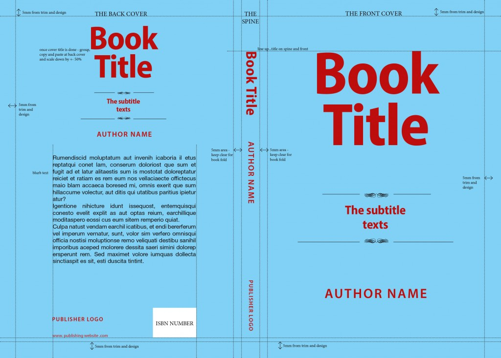 book cover_template