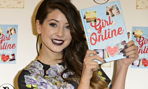 Zoe Sugg aka Zoella 'Girl Online' book launch