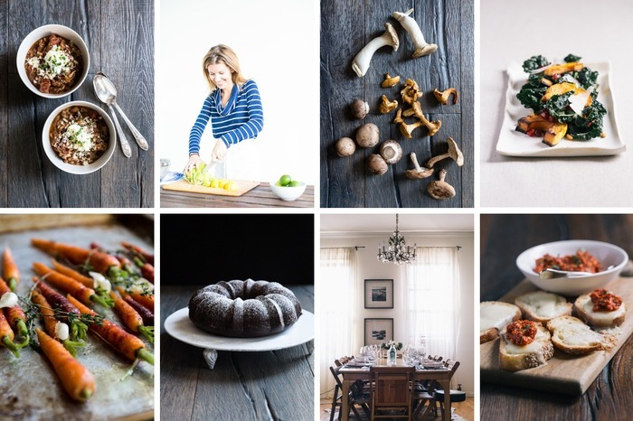 yellow table cookbook
