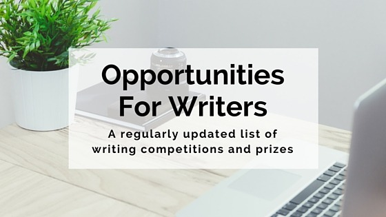 Opportunities for writers page