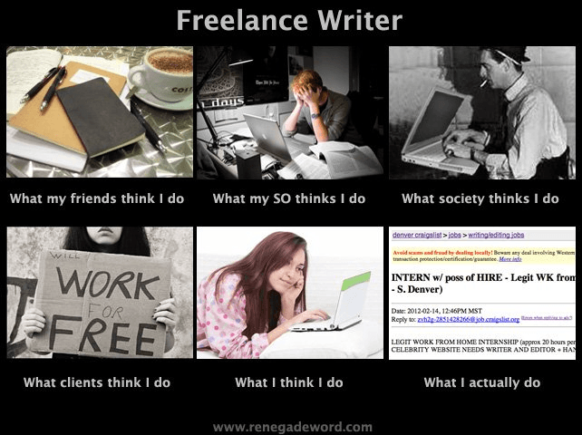 freelance writer_expectations