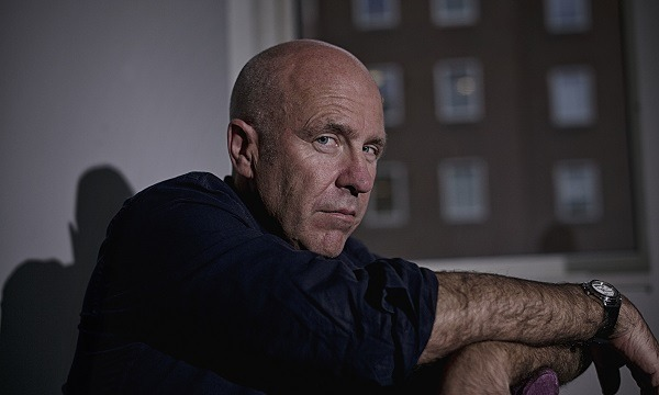 Author Richard Flanagan. Image Credit: Sarah Lee for The Guardian.