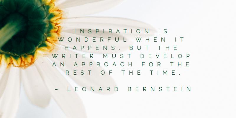 Leonard Bernstein Quote Inspiration