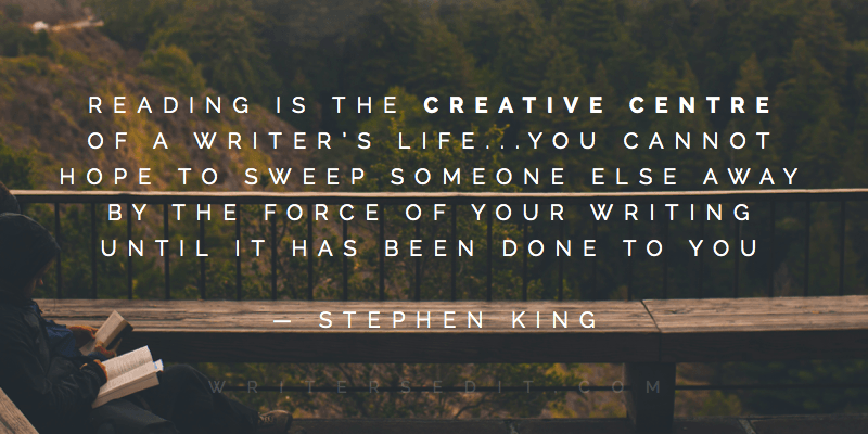 Stephen King Quote Reading