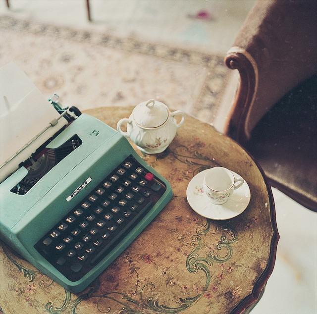 paths to publishing typewriters