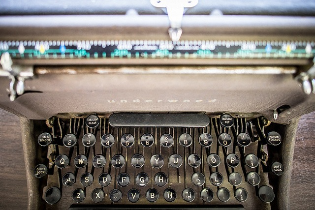 typewriter publishing platforms
