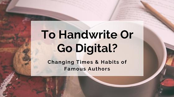 To Handwrite Or Go Digital