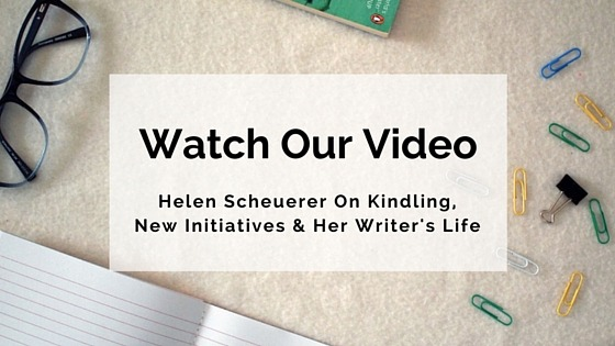 Video With Helen Scheuerer on Kindling