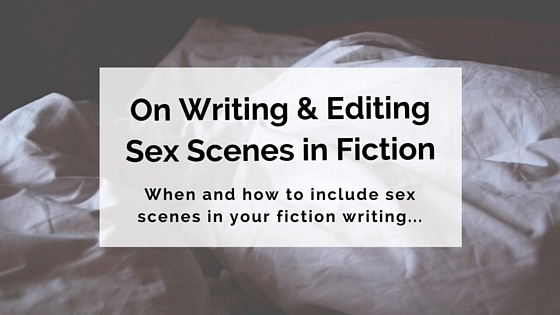 On Sex Scenes in Fiction