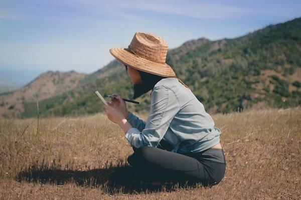 Writing in field