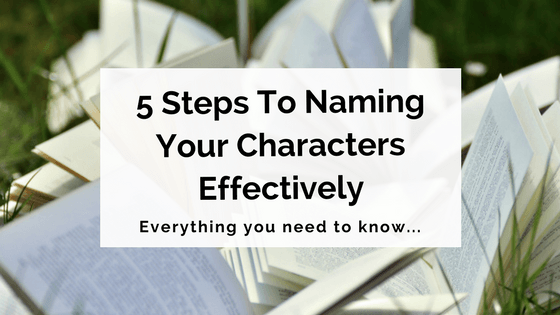 Naming your characters effectively